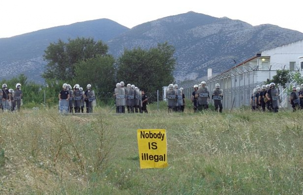 No border camp