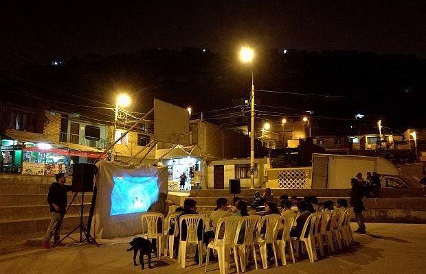 Cinema in periferia a Lima